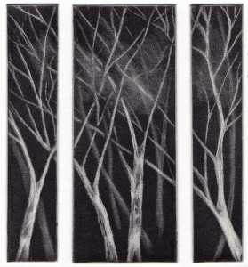 MacLean, Rona 'Birks' 2013 Mezzotint